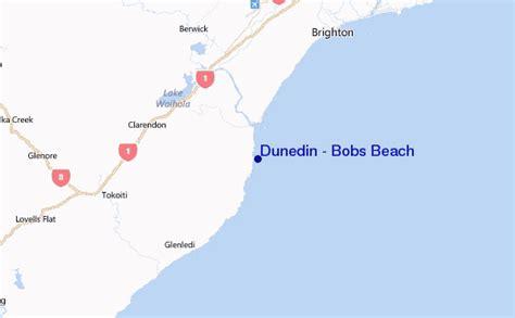 bob locations map dunedin bobs surf forecast and surf reports otago