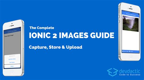 ionic tutorial facebook the complete ionic images guide capture store upload