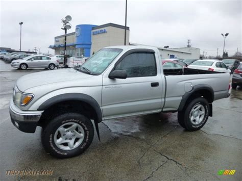 2002 Toyota Tacoma 4x4 For Sale 2002 Toyota Tacoma Regular Cab 4x4 In Lunar Mist Metallic
