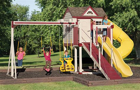 high end swing sets swingsets and playsets for backyard fun for children