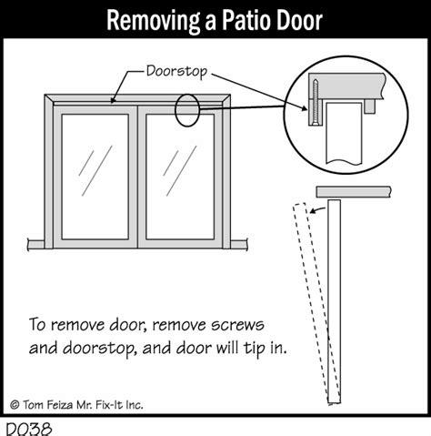 sliding patio door sticks patio door sticks in winter misterfix it