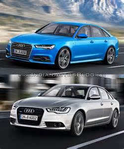 vs new 2015 audi a6 vs pre facelift model