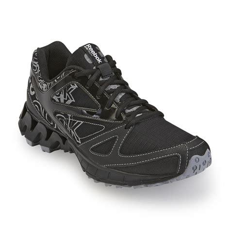 Reebok Zigkick Trail 1 0 reebok s zigkick trail 1 0 black silver running shoes