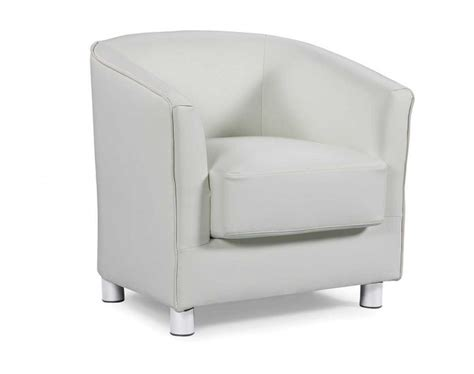 white faux leather bedroom chair sleep design vegas ivory white faux leather tub chair by