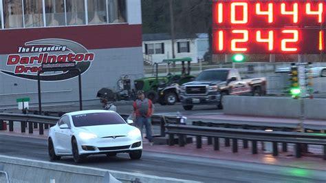 Tesla Model S Quarter Mile Tesla Model S P100d 1 4 Mile Record Broken For Third Time