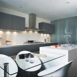Modern Glass Kitchen Cabinets by Modern Kitchen Glass Cabinets D Amp S Furniture