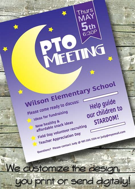 Invitation Letter To Parents For Pta Meeting 25 Unique Pta Meeting Ideas On Pto Meeting Pta School And Pto Flyers