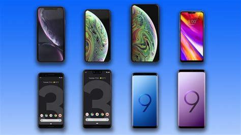 comparing 2018 s flagship phones iphone xr xs xs max vs lg g7 thinq vs samsung galaxy s9