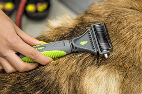 matted cat hair removal petio basics pet grooming dematting deshedding comb with