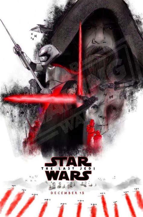 film bioskop terbaru star wars poster terbaru star wars 8 menilkan luke sebagai