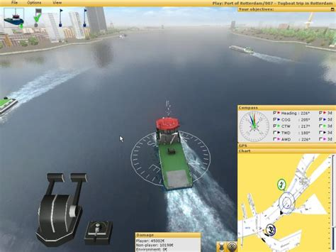tug boat simulator games ship simulator 2006 2008 2010 video