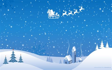 christmas winter vector wallpapers hd wallpapers id 4771