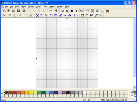 online pattern maker pattern maker for cross stitch software informer screenshots