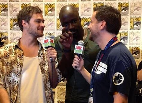 mike colter and finn jones the defenders interview with mike colter and finn jones
