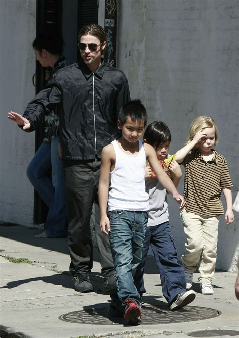 brad pitt and angelina drop the price of their new orleans angelina jolie s kids want to drop pitt from last name