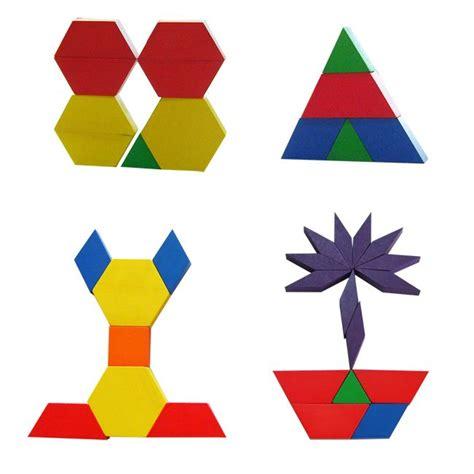 pattern blocks kindergarten 115 best mozaiek voor kleuters preschool mosaic