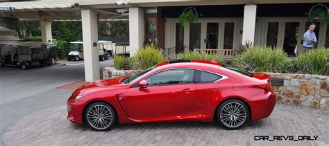 red lexus 2015 2015 lexus rc f ultra in red flawless animations
