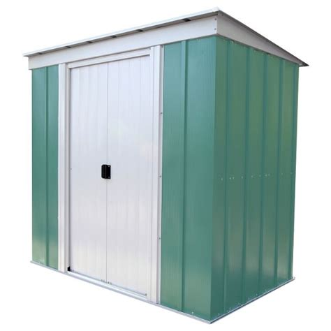 Argos Garden Sheds by Buy Arrow Pent Metal Garden Shed 6 X 4ft At Argos Co Uk
