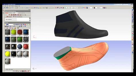 shoes pattern design software icad3d design 3d shoe design software sneaker sle