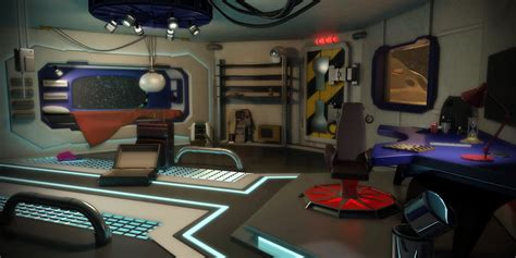 spaceship bedroom interior spaceship bedroom by nicolasjo on deviantart
