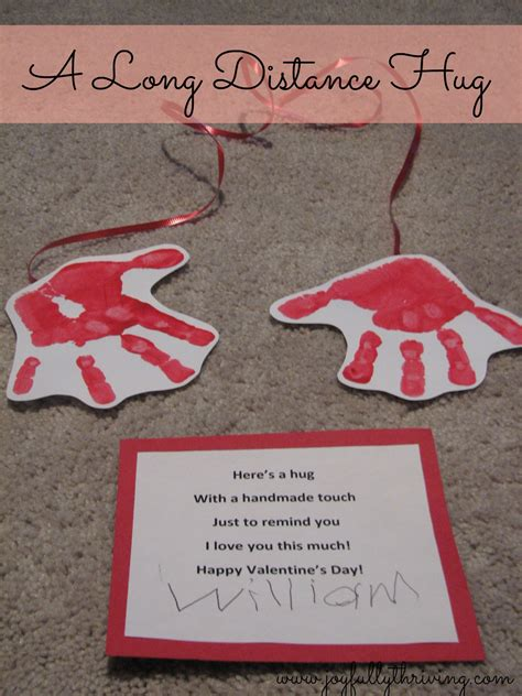 valentines day quotes for preschoolers a distance hug on s day