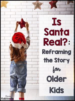santa real reframing  story  older students