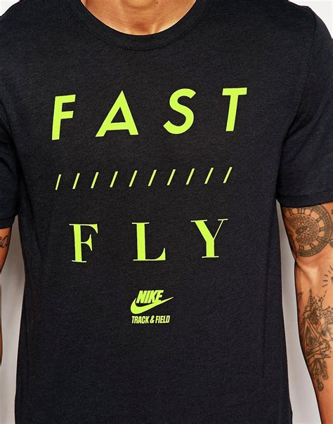 T Shirt Nike Fly Hijau nike nike t shirt with fast fly slogan at asos