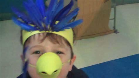 How To Make A Bird Beak Out Of Paper - ezra s bird costume