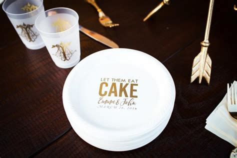 Wedding Cake Plates by Personalized Plates Plastic Plates Cake Plates Wedding