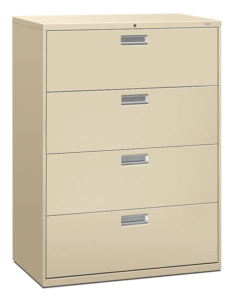 File Cabinets Amazing Hahn File Cabinets Hon 4 Drawer Lateral Files Cabinets