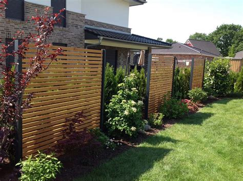 terrasse zaun modern sichtschutz modern design performal best garten ideen