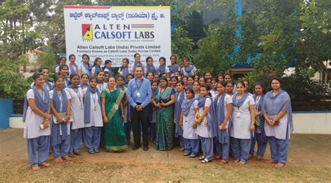 Gsss Mba College Mysore by Gsss Students Visit Alten Calsoft Labs Mysuru Today