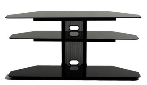 Corner Component Shelf by Corner Lcd Tv Stand With 2 Av Component Shelves