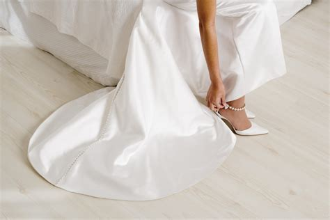 Wedding With Or Wedding To by White Wedding Shoes Articles Easy Weddings