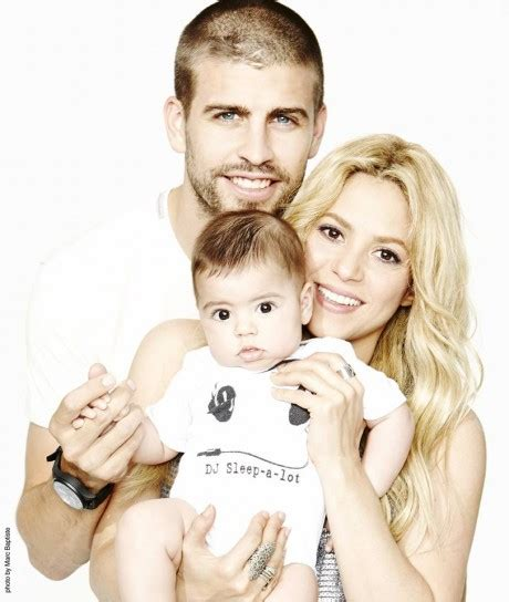 famous hispanic people shakira famous latino gerard pique on his normal family with