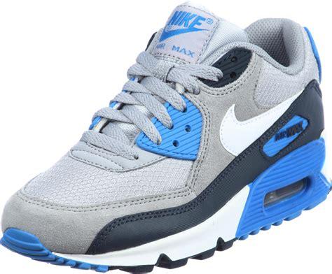 Nike Air Max 90 Grey Blue in nike 11 cladem