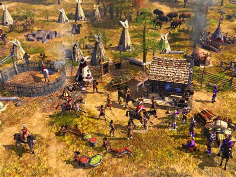 in the age of age of empires iii the warchiefs game giant bomb