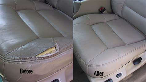 how to repair car seat upholstery leather repair