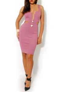 mauve color dress la roxx plunging mauve dress from miami by l a roxx
