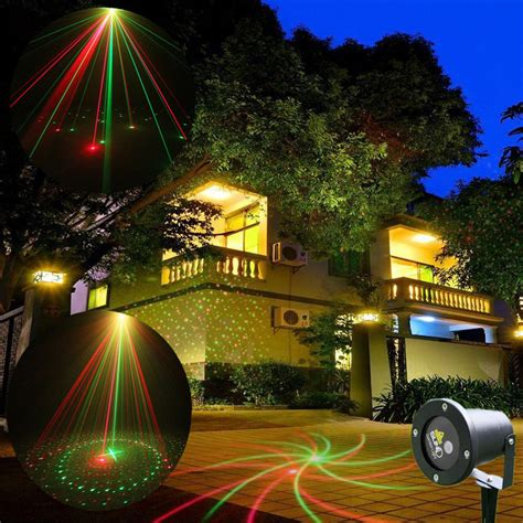 landscape lighting high quality high quality new mini outdoor indoor 8 pattern gr laser project landscape lighting show outside