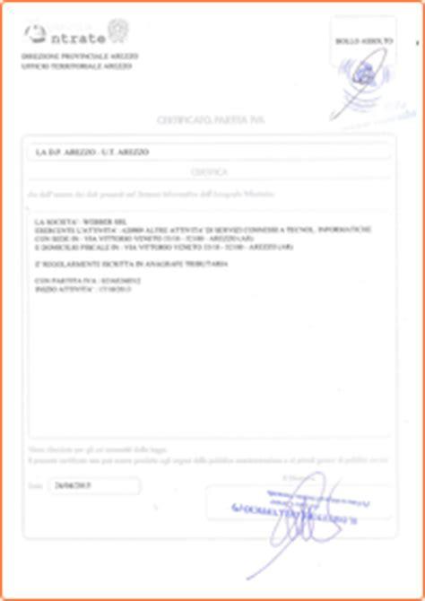 di commercio ricerca partita iva certificato attribuzione partita iva attribuzione