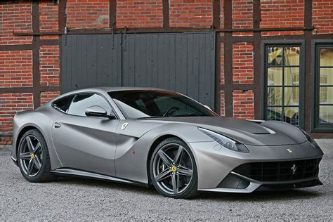 matte gray ferrari f12berlinetta by cam shaft forcegt com