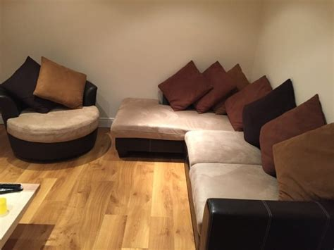 sectional with cuddle corner corner sofa and cuddle chair for sale in clarehall dublin