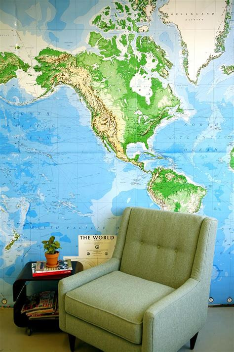 wall map for room map wall mural 2017 grasscloth wallpaper