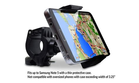 Bike Phone Holder By Paceshop22 cell phone holder for bike handlebar by teslan groupon