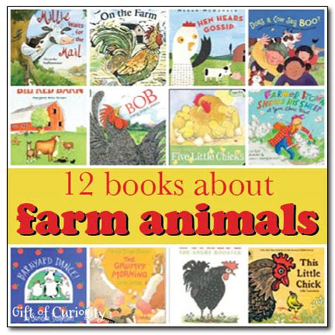 farm picture books 12 books about farm animals gift of curiosity