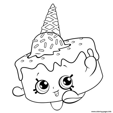 coloring pages of baby shopkins print ice cream coloring for free shopkins season 5
