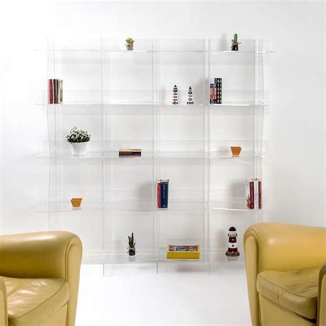 libreria a muro design libreria autoportante a muro design moderno pam trasparente
