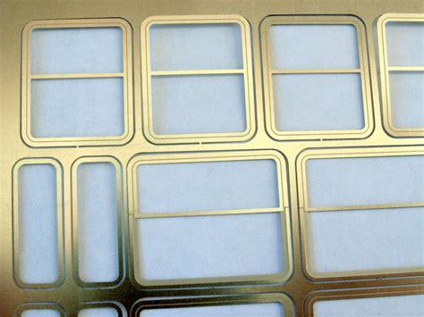 Plexiglasfenster Mit Rahmen by Entstehung Der Fenstereins 228 Tze F 252 R Rivarossi Wagen Spur