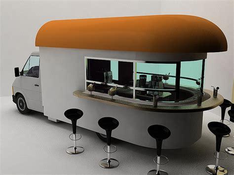 modern food truck design mobile coffee shop design milk